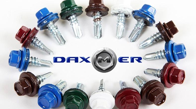 Саморезы для профнастила марки DAXMER