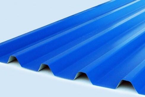 Синий профнастил
