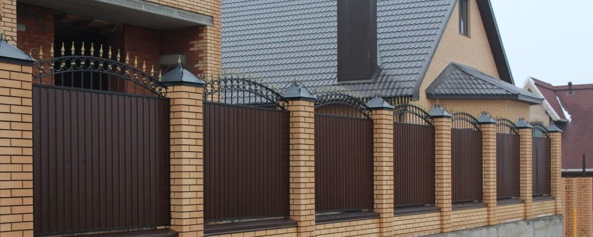 ворота с ковкой изображение